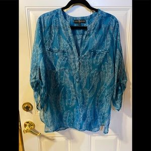 Tunic Top made by Fred & David size Large